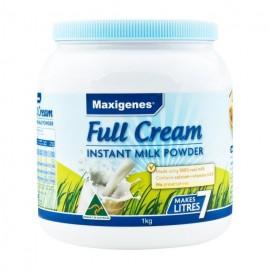 MAXIGENES 美可卓 全脂高钙成人奶粉 含维A/维D 儿童/孕妇/成人 1KG